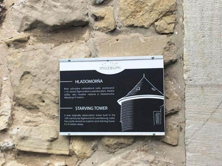 Гладоморня Тренчьянского замка – зловещий памятник людской жестокости
