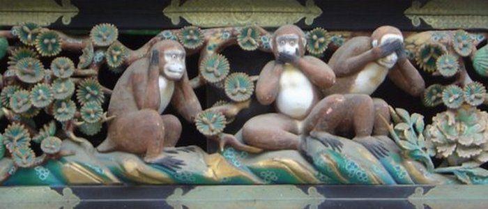 327ce6479a5860e0dec8c1430f8858fc - Мидзару, Кикадзару, Ивадзару: Почему три японскин обезьяны стали символом женской мудрости