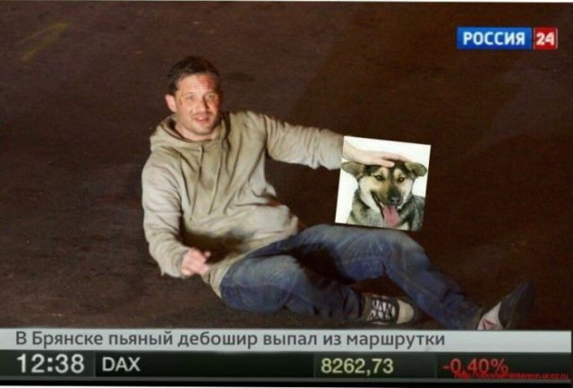 """""""Выпавший из маршрутки"""" Том Харди (22 фото)"""