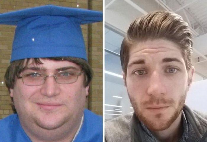 Потеря веса - преображение на лицо (20 фото)