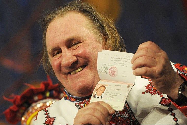 1 yanvarya 2013 goda ZHerar Deparde poluchil rossijskoe poddanstvo - У Жерара Депардье 20 внебрачных детей