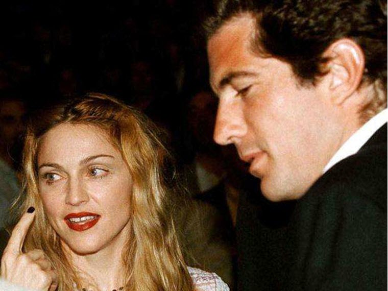 Dzhon Kennedi mladshij - Мадонна и ее мужчины