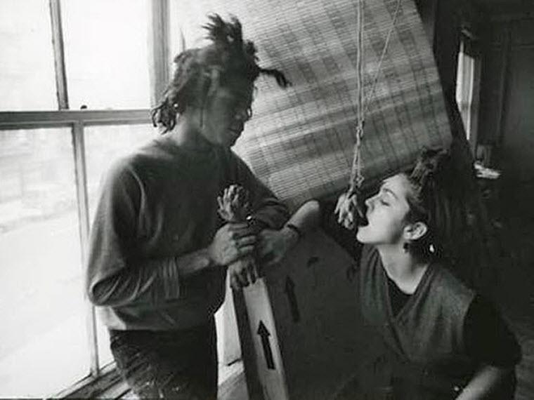 ZHan Mishel Baskiya - Мадонна и ее мужчины