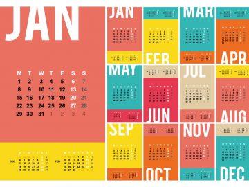 Интересные даты января