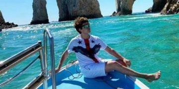 Прохор Шаляпин развлекается на круизном лайнере