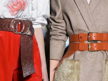 Модные женские ремни 2020
