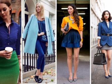 Идеальные сочетания синего цвета в одежде