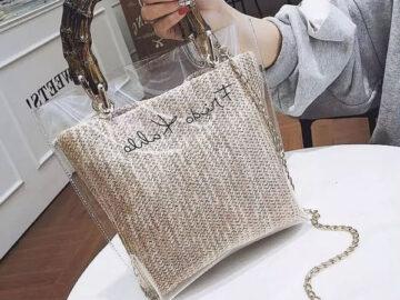 Виниловые сумки: тренд, который уже носят все модные девушки