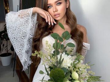 Легкость и сияние: эксперт назвала тренды свадебного макияжа и прически 2022