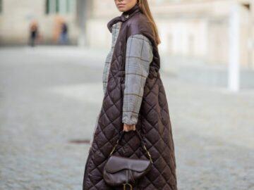 Стеганые куртки и пальто на осень 2021, чтобы было тепло и красиво