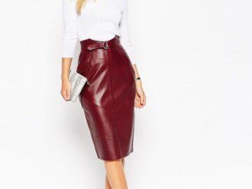 С модной юбкой вы всегда будете стильно выглядеть. 8 моделей на осень