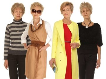 Что будет носить женщин 50-60 лет этой зимой. Советы от стилиста