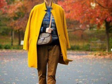 Желтый цвет в одежде, поднимет вам настроение и сделает ваш образ модным